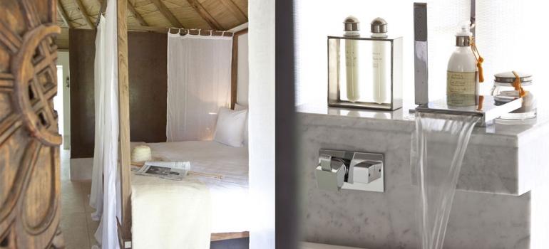 Salle de bain privative hotel les 5 Djellabas