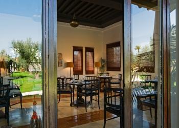 Hotel 5 djellabas restaurant Marrakech