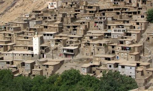 village berbere atlas maroc